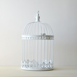 Cage métallique arrondie