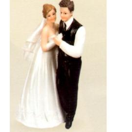Couple mariés 15 cm