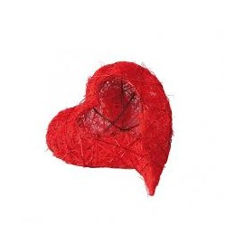 Coeur rouge coco