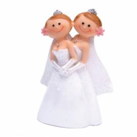 Figurine femmes en couple