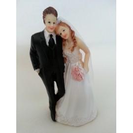 Couple mariés 14 cm
