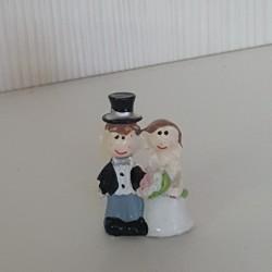 Lot 3 couples mariés autocollant